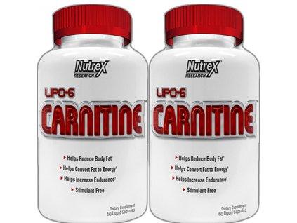 Lipo 6 Carnitine 60cps 1+1