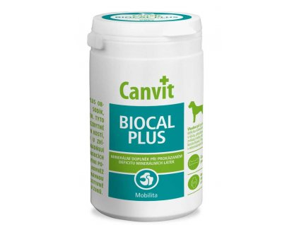 Canvit BIOCAL Plus ochucený 500 g