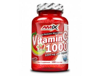 Amix Vitamín C 1000 mg 100cps  + CashBack po registraci 24 Kč / 0,9 €