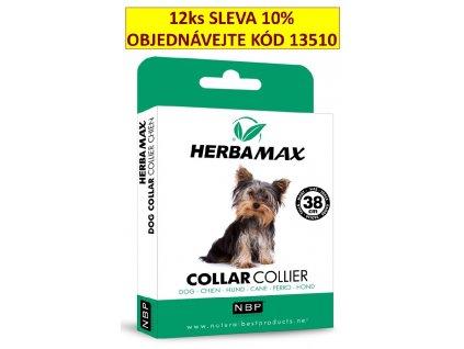 Herba Max Dog collar 38cm antiparazitní obojek-13414
