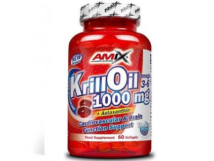 Amix Krill Oil 1000mg 60 softgels