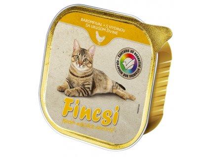 Fincsi Cat drůbeží, vanička 100 g