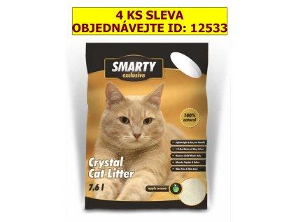 SMARTY EXCLUSIVE  7,6lt.silikátové stelivo-9247