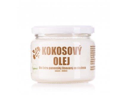 LifeLike Kokosový olej BIO 300 ml panenský lisovaný za studena
