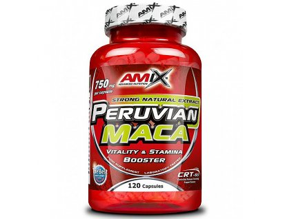 Amix Peruvian Maca 750mg 120cps