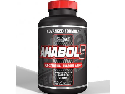 Anabol 5 BLACK NEW 120 cps