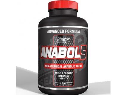 Nutrex Anabol 5 BLACK 120 cps exp.