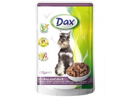 Pro pejska Dax kapsa DOG KRŮTA+KACHNA 100g-11989  Dárek k objednávce od 25 € / 600 Kč