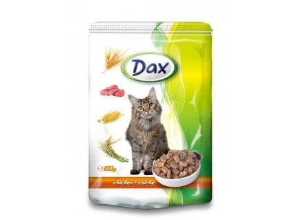 Pro kočku DAX kapsa CAT KUŘECÍ 100g-9435  Dárek k objednávce od 25 € / 600 Kč