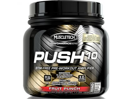 Muscletech Push 10 487g exp.