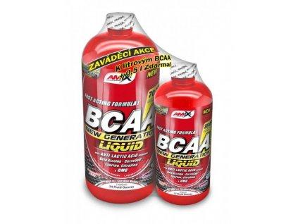 amix bcaa new generation 1000 + 500 ml