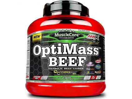 Amix MuscleCore DW - OptiMass Beef 2500g with HYDROBEEF  + Dárek dle vlastního výběru
