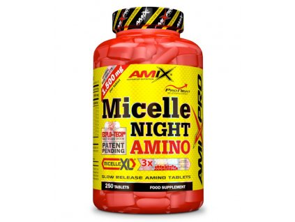 Amix Micelle Night Amino 250 tbl  + CashBack po registraci 99 Kč / 3,8 €