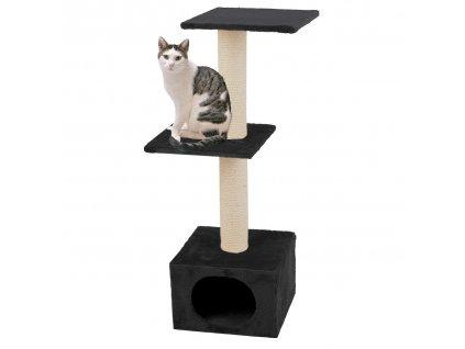 Karlie Škrabadlo pro kočky černé 35x35x103cm