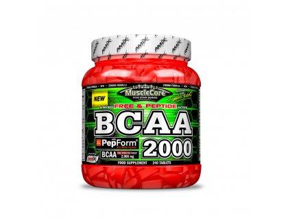 amix bcaa 2000 with pepform 240 tab