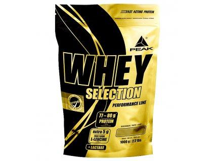peak whey selection 1000g