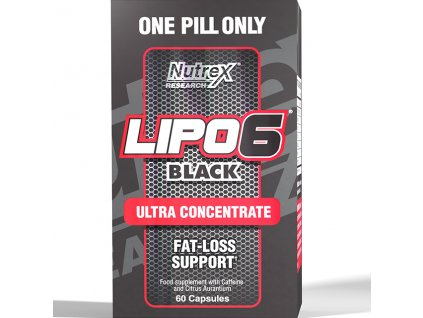 Nutrex Lipo 6 Black ULTRA CONCENTRATE 60 cps exp.