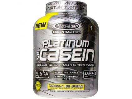 Muscletech Platinum 100% Casein 1660 g exp.