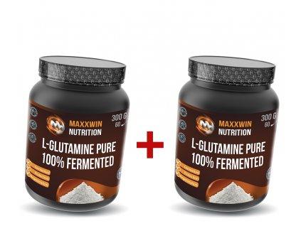 maxxwin l glutamine fermented 300g 1+1