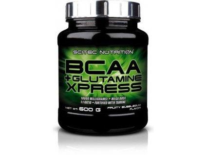 scitec bcaa + glutamine 600 g