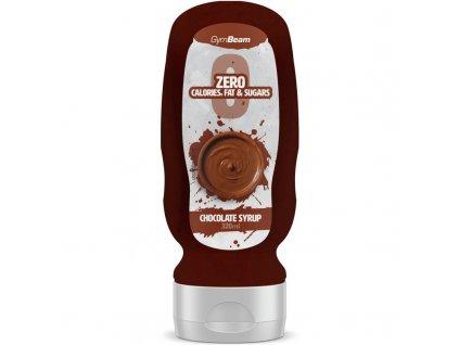 Bezkalorický sirup Chocolate Syrup 320 ml - GymBeam