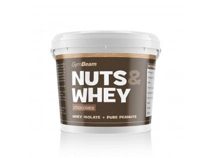 GymBeam Nuts & Whey 1000 g