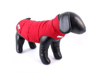 Doodlebone zimní bunda, Combi-Puffer, červená/šedá, velikost XL