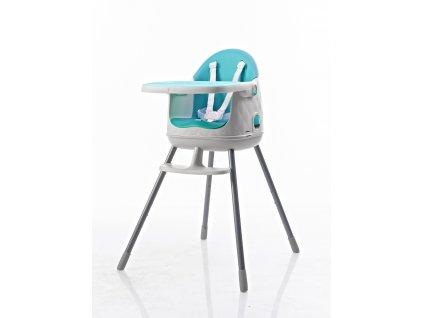 Keter Multifunkční židlička modrá 64x60x90cm
