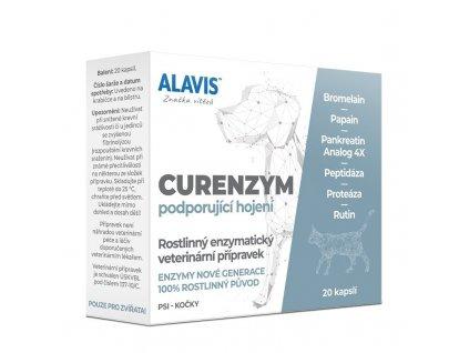 ALAVIS CURENZYM Enzymoterapie 20 cps