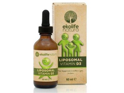 Ekolife Natura Liposomal Vitamin D3 60 ml