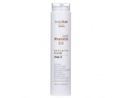 Freelimix Maska po narovnání keratinových vlasů Braziker (Extralix Mask) 250 ml