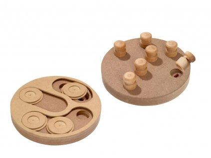 Karlie Interaktivní hračka Penny 2v1 pro psy 25cm