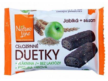 Nature Line Duetka sušenky celozrnné 50g