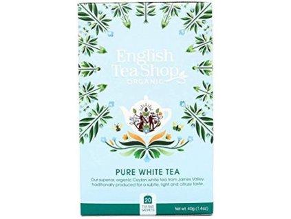 English Tea Shop Čistý bílý čaj BIO 20 sáčků