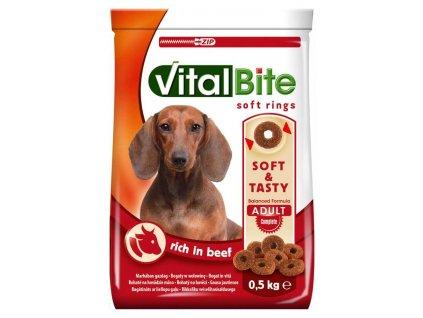 VitalBite soft rings hovězí 500 g
