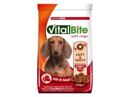 VitalBite soft rings hovězí 1,5 kg