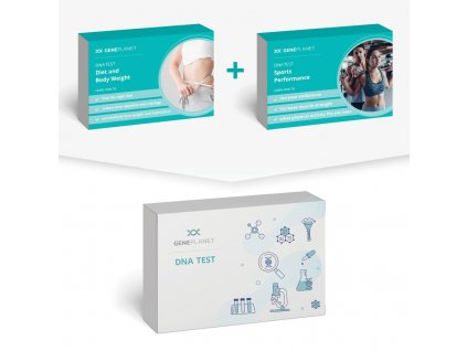 DNA Test Sports Performance + Diet and Body Weight - GenePlanet
