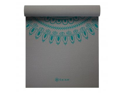 Podložka na cvičení Premium Yoga Mat Teal Marrakesh - GAIAM