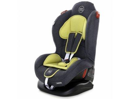 Autosedačka Coto Baby Swing 9-25kg, 2020 - olivová, melír