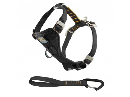 Kurgo Bezpečnostní postroj pro psa s autopásem, černá, XS