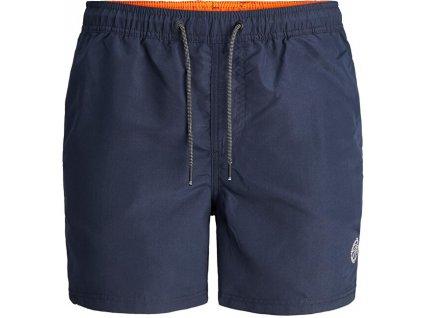 Jack&Jones Pánské koupací kraťasy JJIBALI 12183741 Navy Blazer