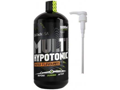 BioTech USA Multi Hypotonic Drink + dávkovací pumpička 1000 ml