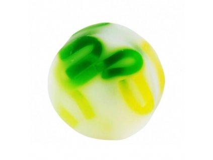 Organique Tuhé glycerinové mýdlo kulaté Citronová tráva (Glycerine Soap) 100 g