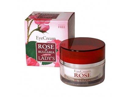 BioFresh Oční krém s růžovou vodou Rose Of Bulgaria (Eye Cream) 25 ml