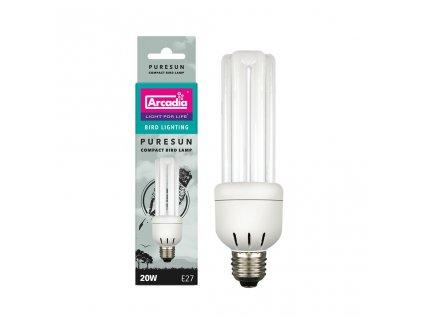 Arcadia Bird Lamp Compact 20W 20W/15 cm  + Dárek dle vlastního výběru