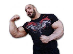 Nutrex Kulturistické Tričko Zack Khan
