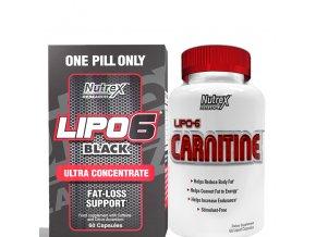 Nutrex Lipo 6 BLACK Ultra Concentrate + Lipo 6 Carnitine 60cps