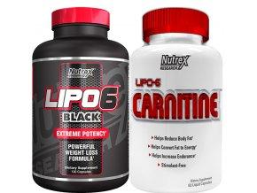 Nutrex Lipo 6 BLACK EU 120cps + Lipo 6 Carnitine 60cps