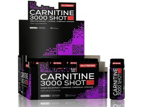 Nutrend CARNITINE 3000 SHOT 20x60ml exp.