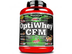Amix MuscleCore DW - OptiWhey CFM 2250g + Shaker Muscle Core ZDARMA